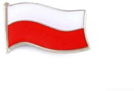 Flaga Polska mała - przypinka