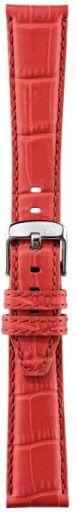 Pasek Morellato Soccer Alligatore Calf Red 18mm