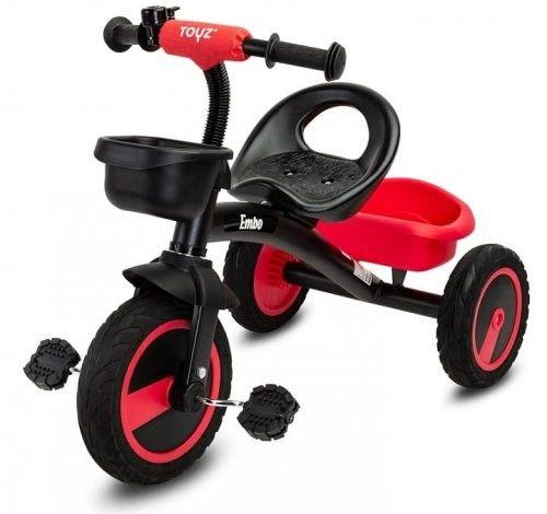 Caretero Embo Toys Rowerek trójkołowy Red