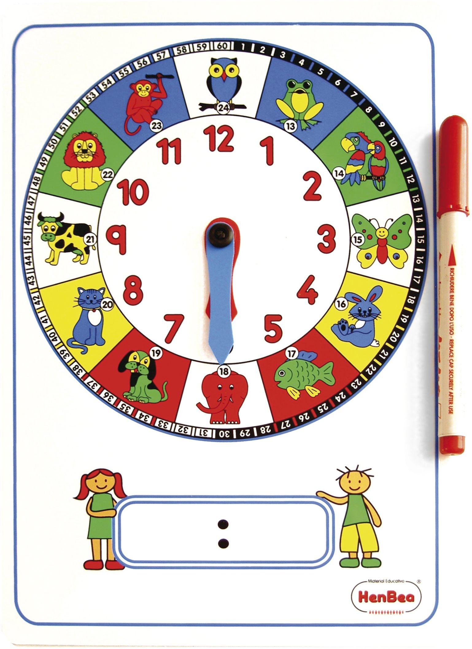 Eduplay 120129  zegar do nauki ręczny