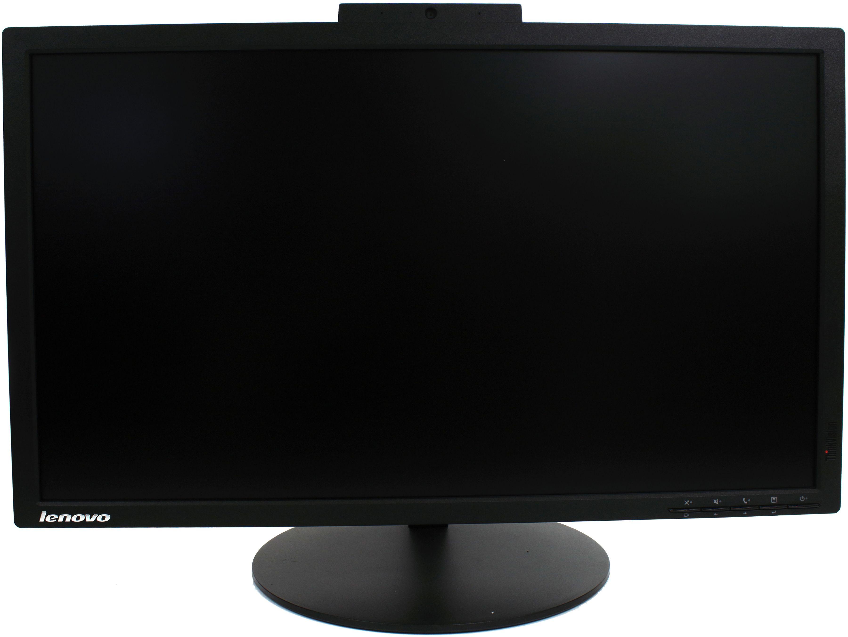 Monitor Lenovo ThinkVision T2424p 24'' IPS LED 1920x1080 Pivot DVI DisplayPort Wbudowana Kamera