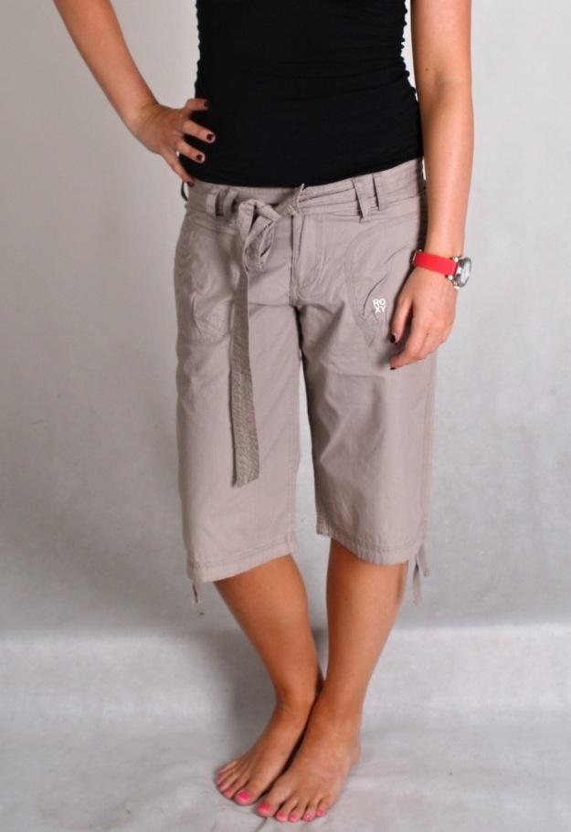 3/4 spodnie damskie ROXY Grey