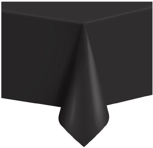 Obrus foliowy czarny 137x274cm 512321