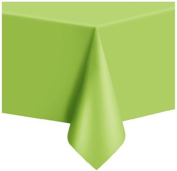 Obrus foliowy jasny zielony 137x274cm 512318