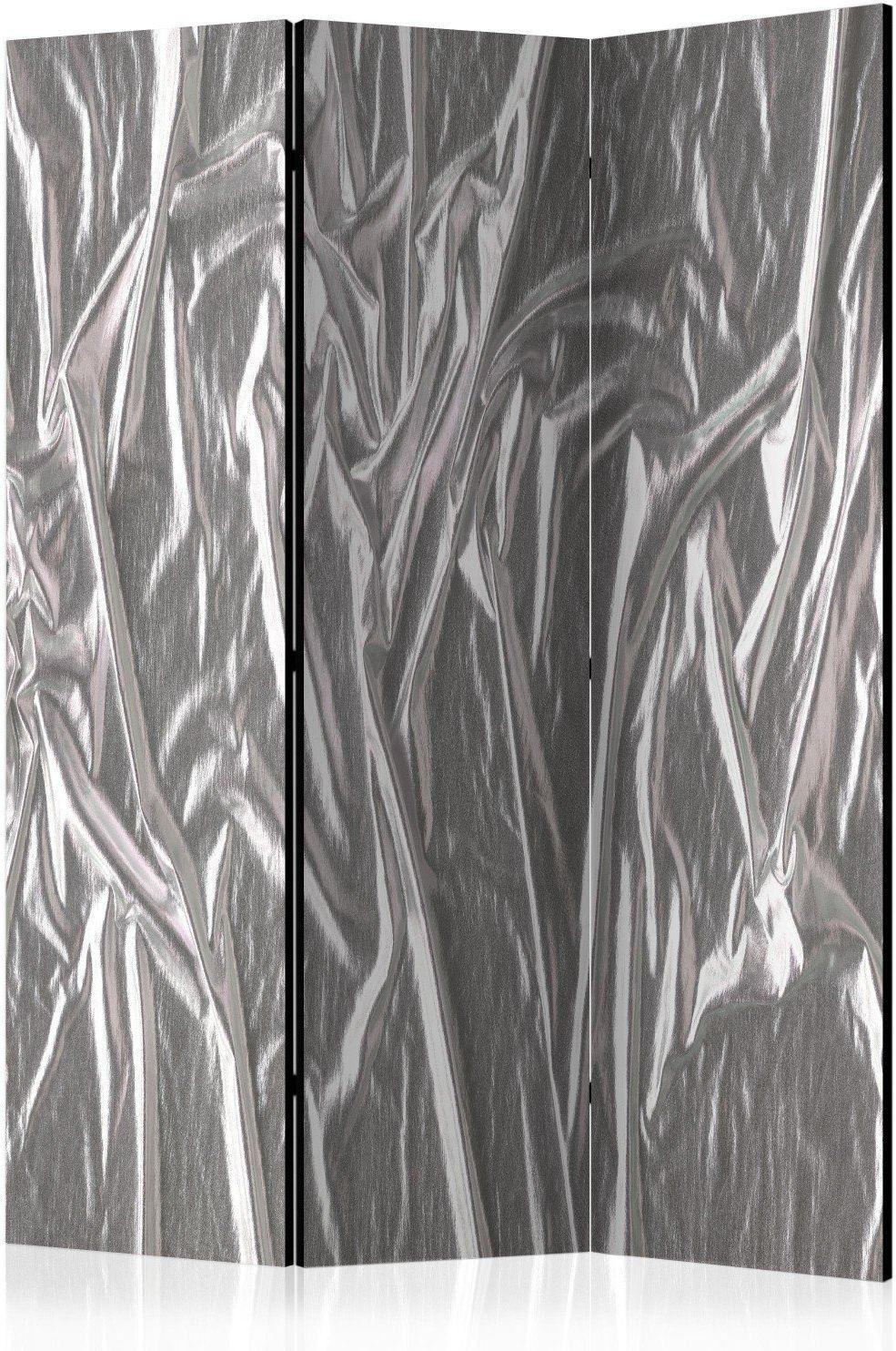 Parawan 3-częściowy - szlachetne srebro [room dividers]