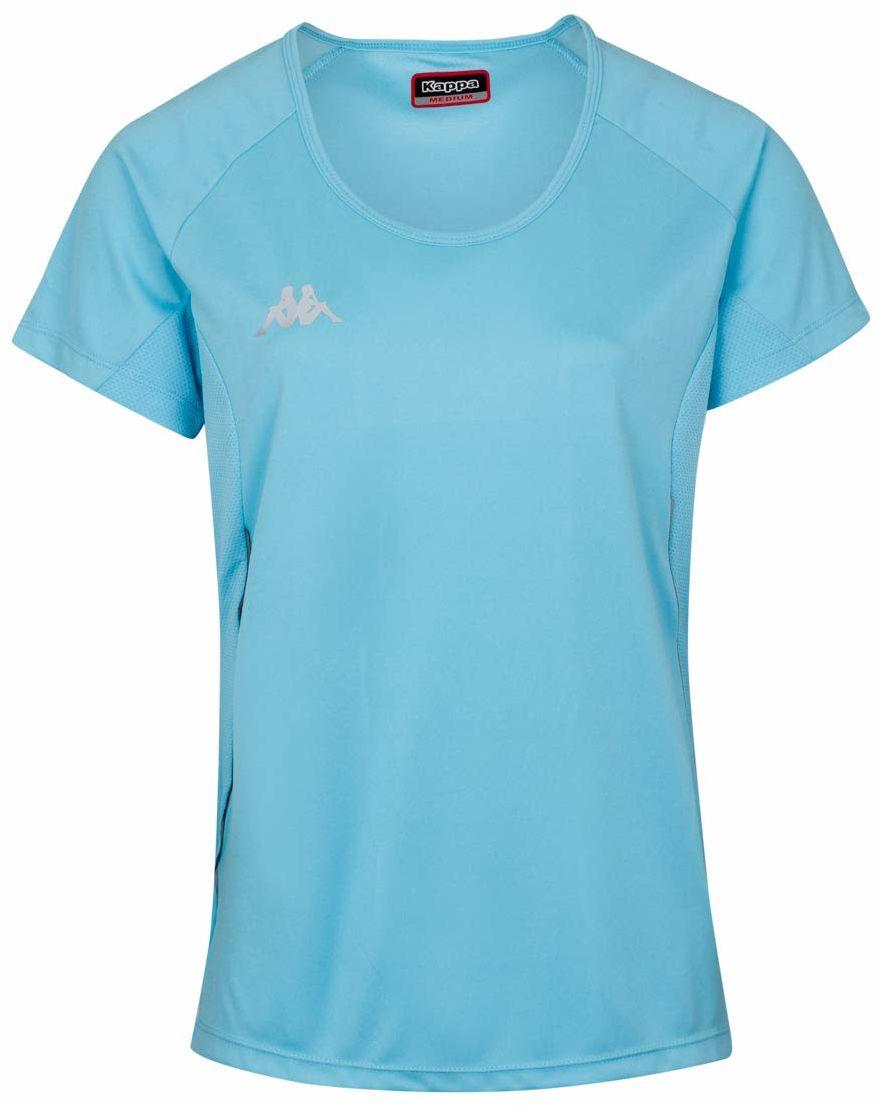 Kappa Damski Fania koszulka techniczna, niebieska, XL