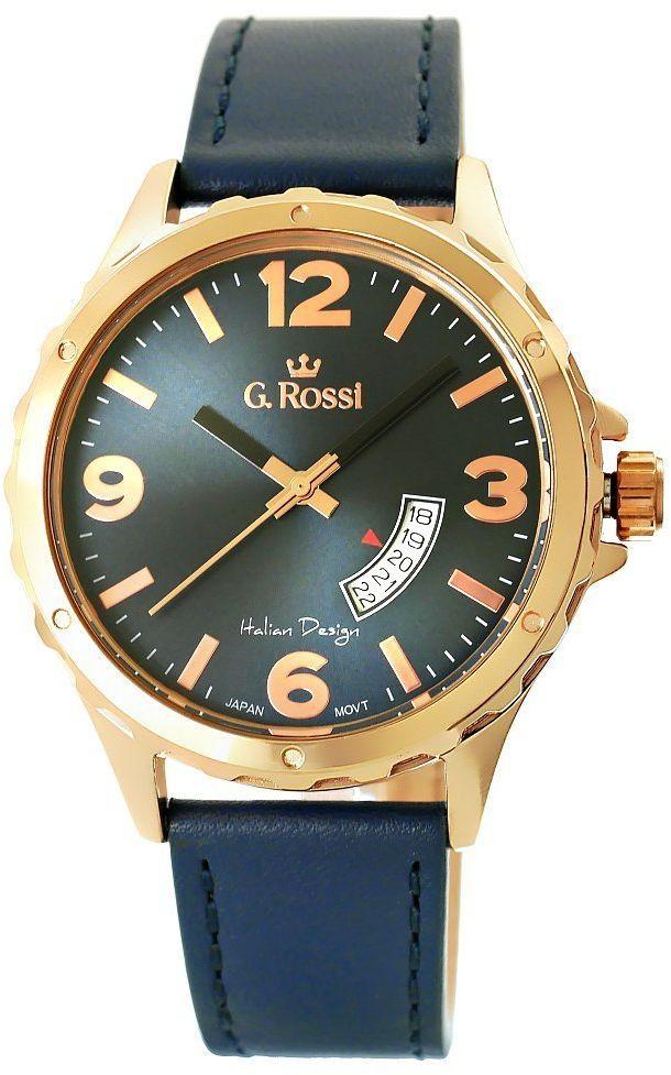 Zegarek Męski G.Rossi 10273A-6F3