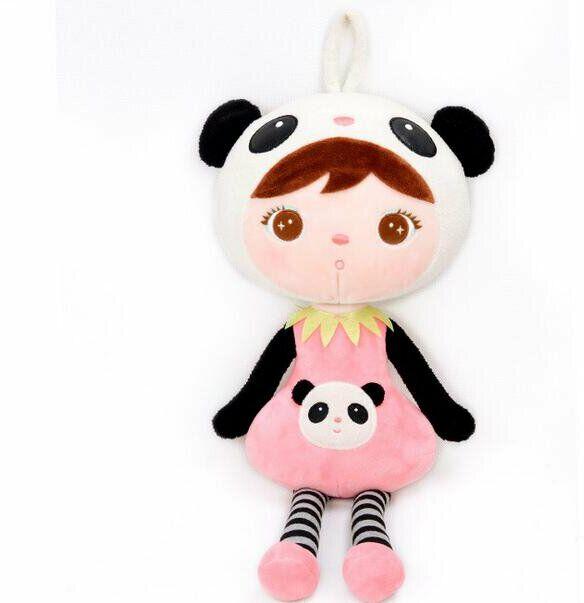 Lalka Metoo panda z zawieszką 46 cm