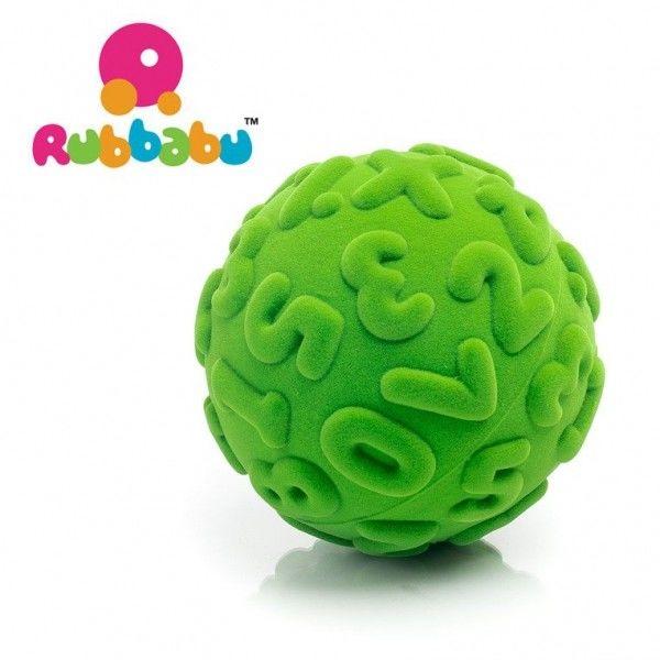 Rubbabu - Sensoryczna Piłeczka Edukacyjna Zielona