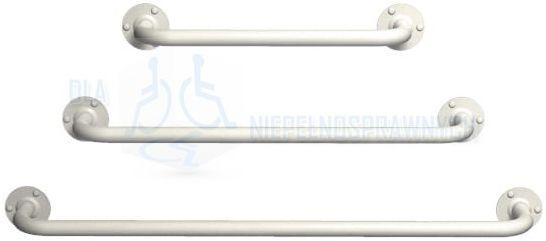 Poręcz prosta UP3, długość 30 cm, dla niepełnosprawnych i ogólnego zastosowania