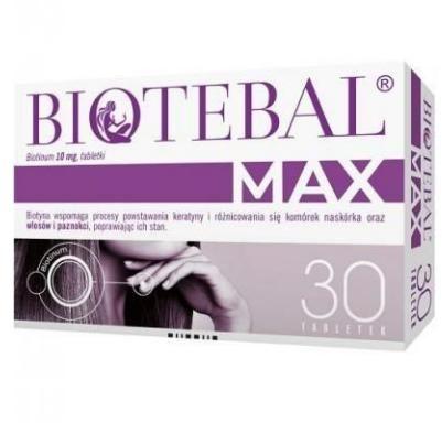 Biotebal Max 10 mg 30 tabletek
