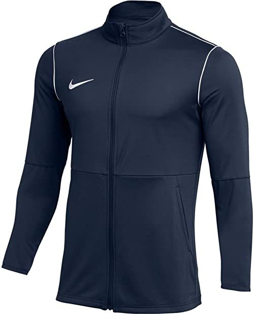 Nike M NK DRY PARK20 TRK JKT K kurtka sportowa, obsydian/White/White, S