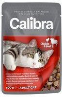 CALIBRA NEW PREMIUM CAT ADULT CHICKEN & BEEF 100 G