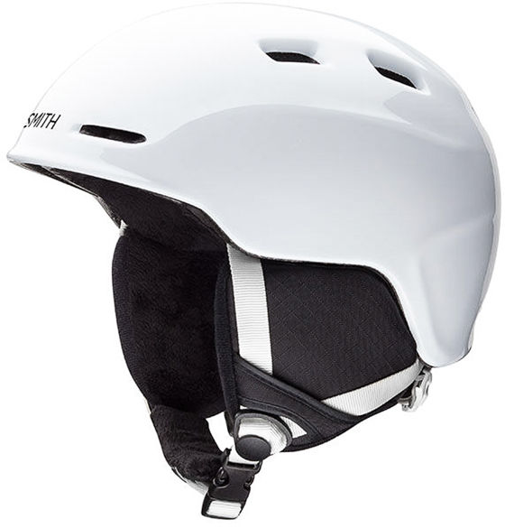 Smith ZOOM JUNIOR white kask snowboardowy
