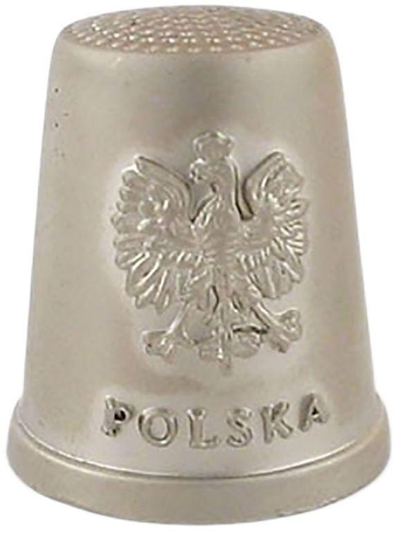 Naparstek metalowy - Polska, orzeł