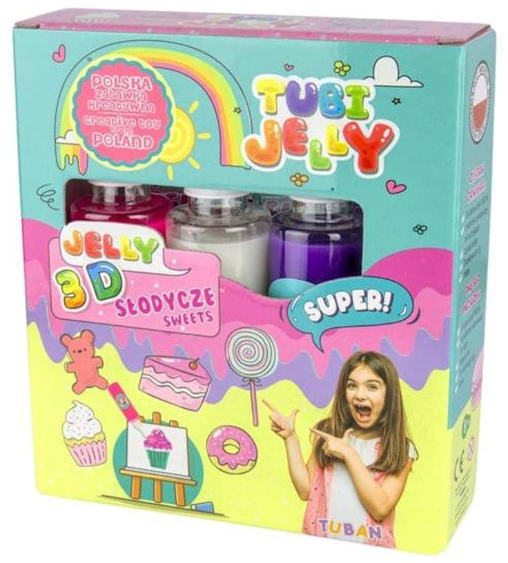 Zestaw Tubi Jelly 3 kolory - Słodycze