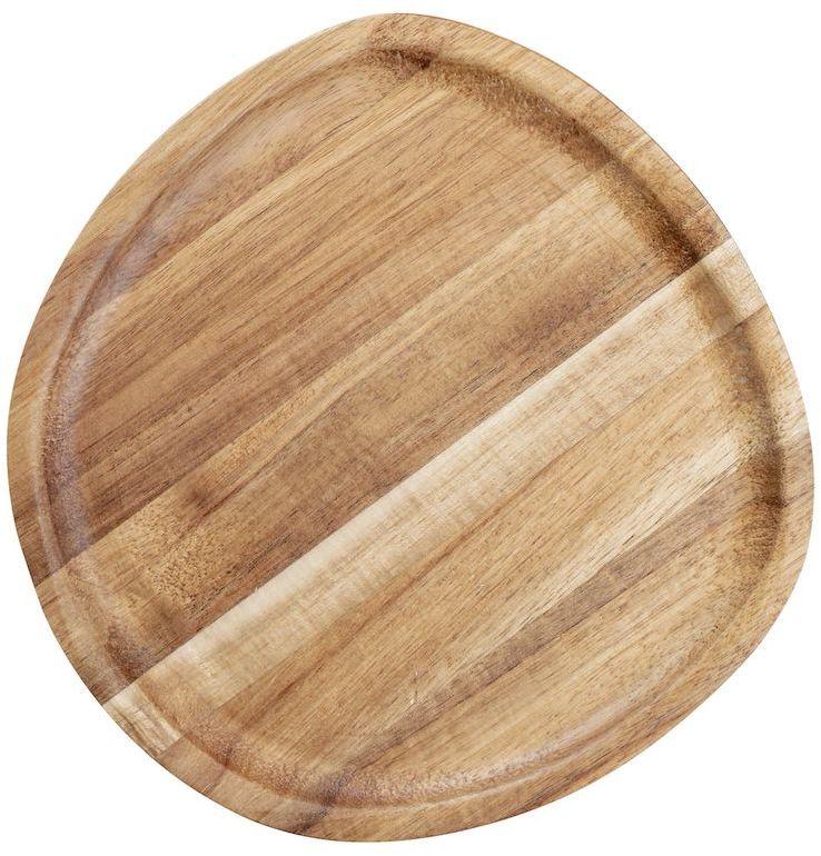 Talerz drewniany 20x20 cm