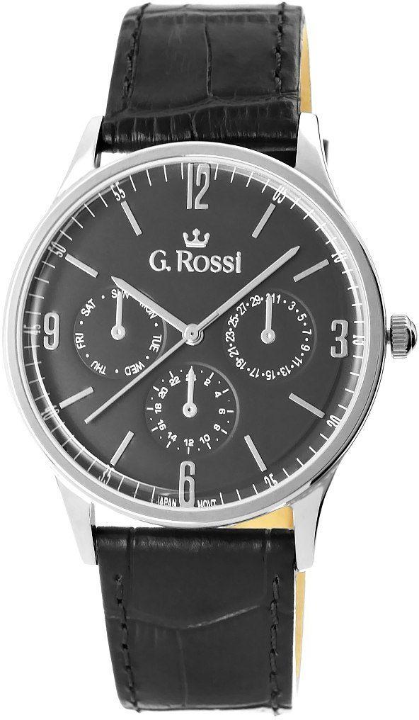 Zegarek Męski G.Rossi 10737A-1A1