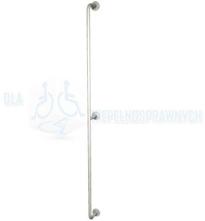 Poręcz prosta pionowa UP16, długość 160 cm, dla niepełnosprawnych