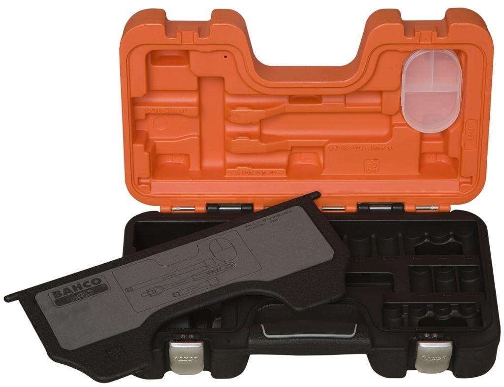 zestaw kluczy nasadowych 6-katnych 1/2'', 24 szt. BAHCO [S240]