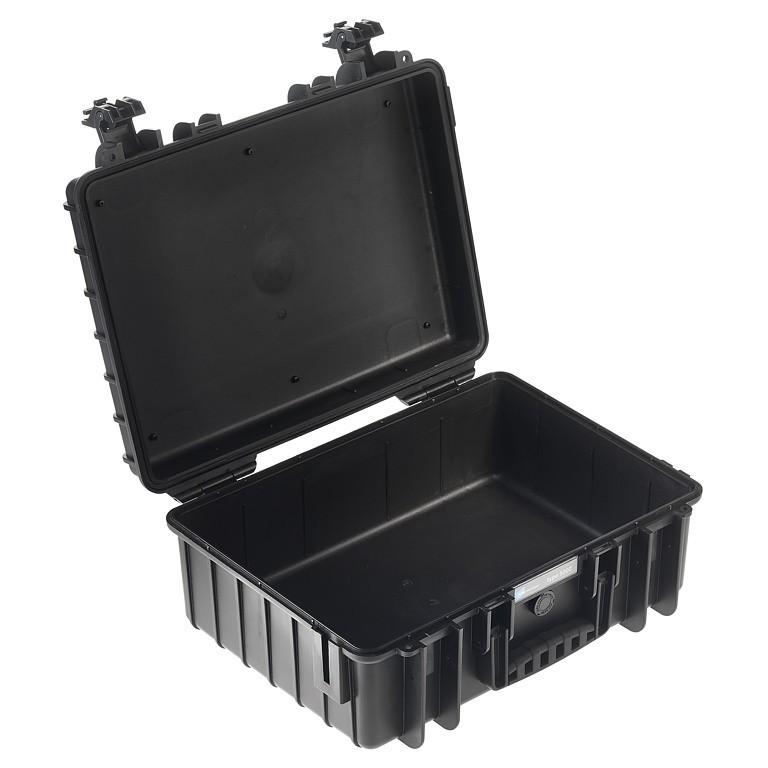 Walizka transportowa B&W outdoor.cases Typ 5000 bez wypełnienia Czarna