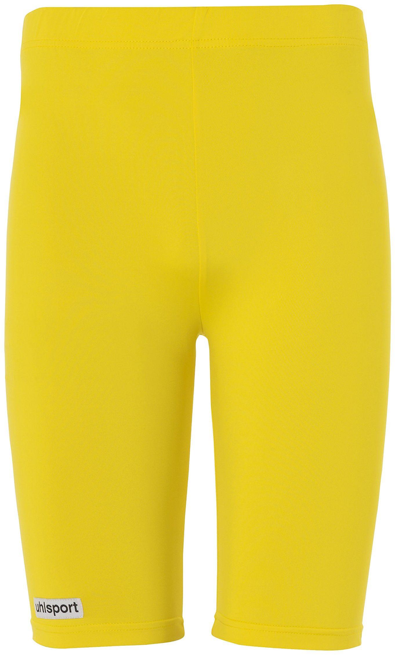 uhlsport odzież sportowa spodnie męskie, żółte, XS
