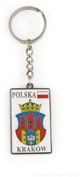Brelok herb Kraków metalowy