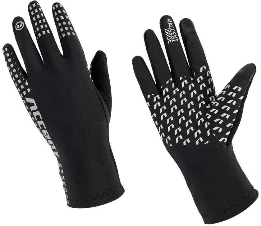 Rękawiczki Accent Gripper zimowe ocieplane czarne XXL