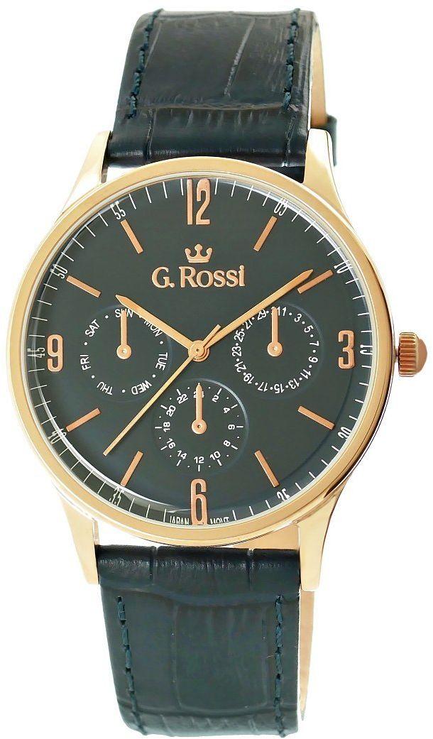 Zegarek Męski G.Rossi 10737A-6F3