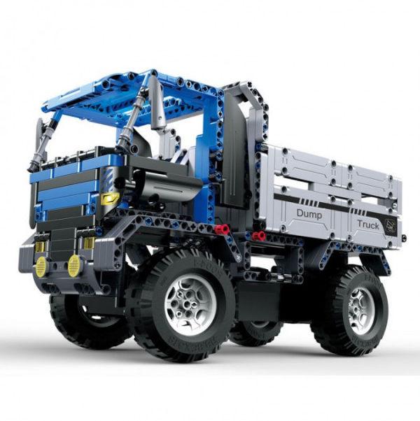 Ciężarówka wywrotka - klocki CADA - ZDALNIE STEROWANA (C51017W)