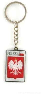 Brelok Polska godło metalowy