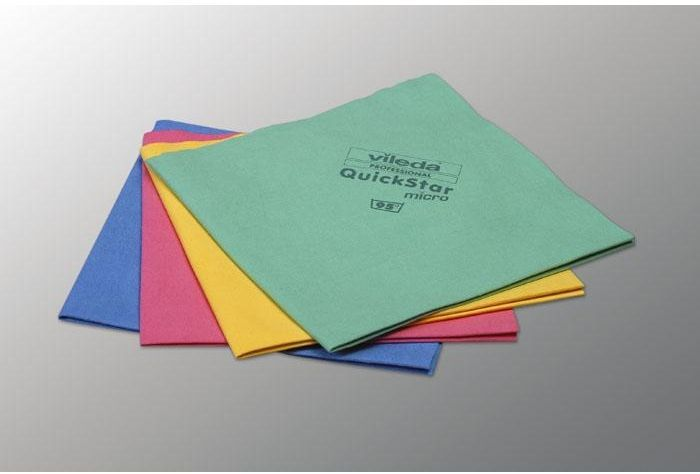 Ścierka z mikrofazy Vileda QuickStar Micro 5 sztuk