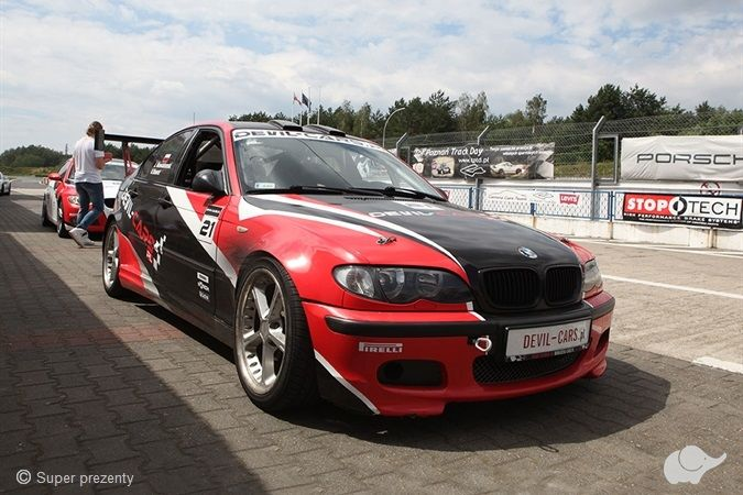 Jazda BMW M Power Tor Poznań