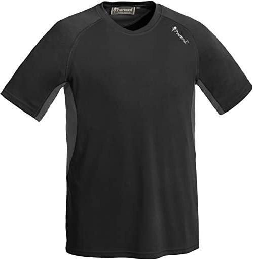 Pinewood Activ T-Shirt męski, czarny/szary, S