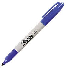 Sharpie Fine Marker permanentny Niebieski