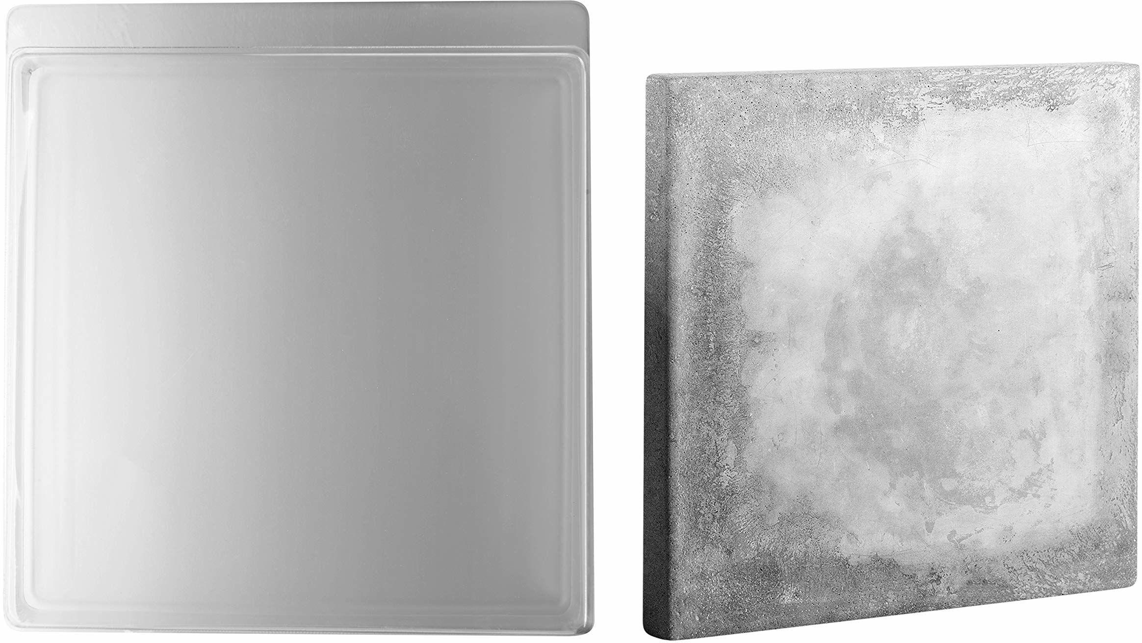 RAYHER 36035000 forma do odlewania kwadratowa duża, 25 x 25 cm, głębokość 4 cm