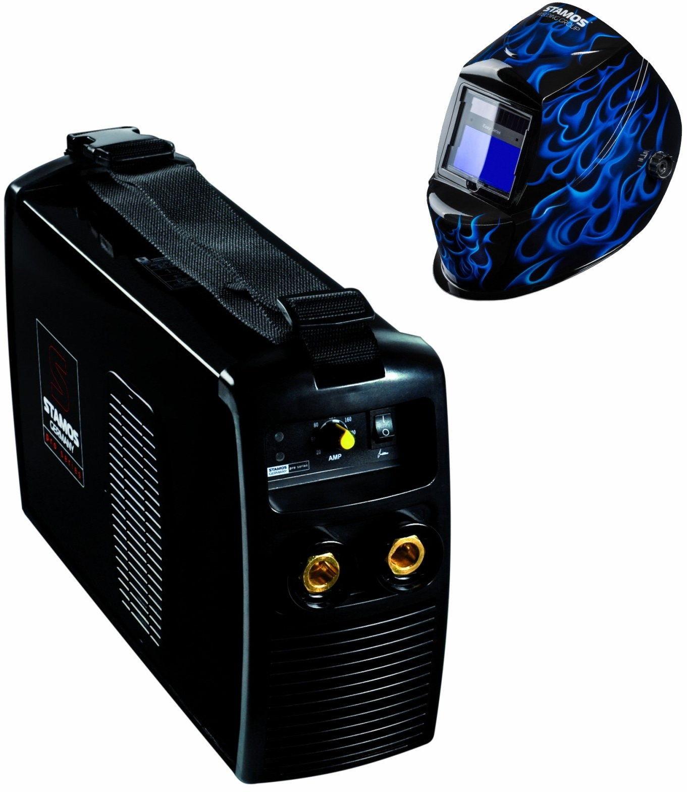Spawarka MMA - 250 A - 230 V - IGBT - PLUS maska spawalnicza - Eagle Eye - Advanced - Stamos Pro Series - S-MMA-250-PI - 3 lata gwarancji/wysyłka w