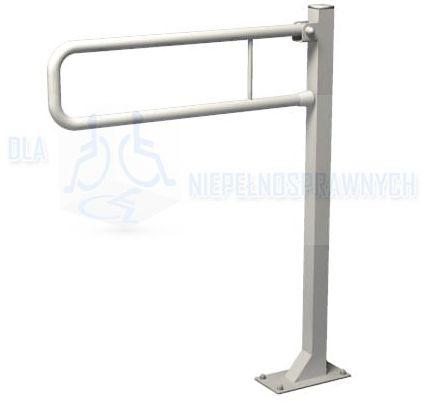 Poręcz łukowa stała URP6s, dla niepełnosprawnych, przy WC