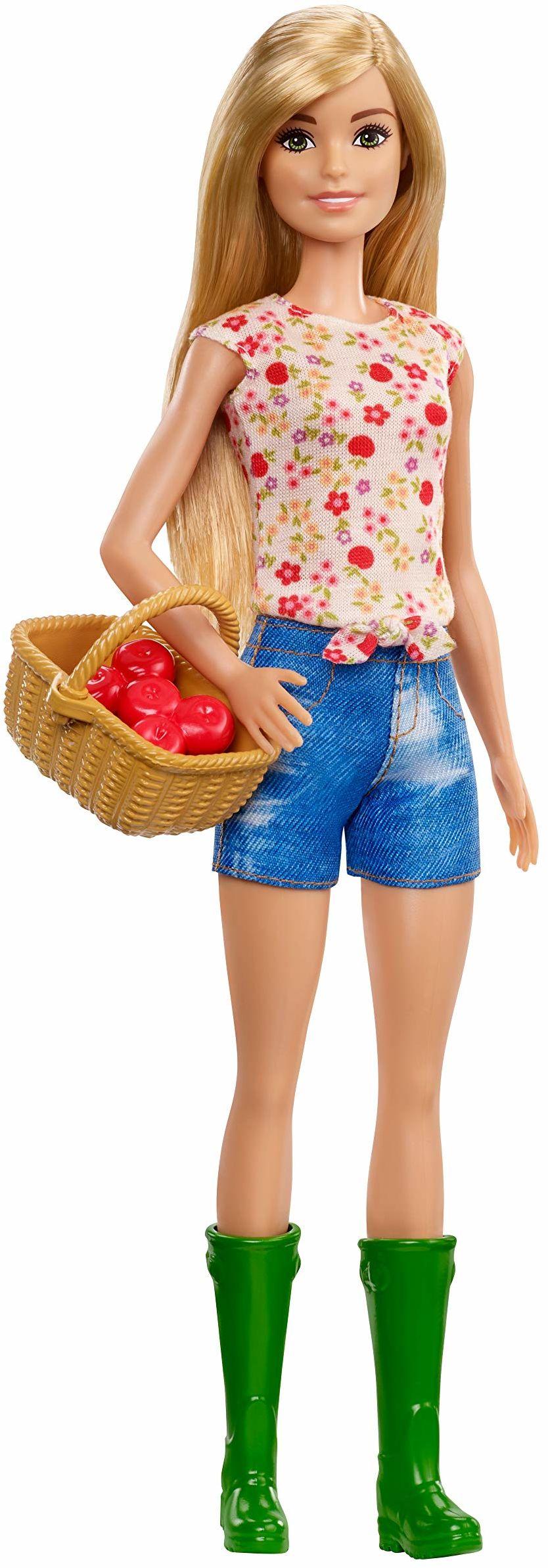 Barbie GCK68 Farm Doll, niebieski