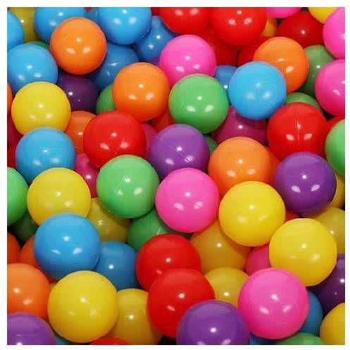 Kolorowe piłki do suchego basenu 5cm 100 sztuk 00009264
