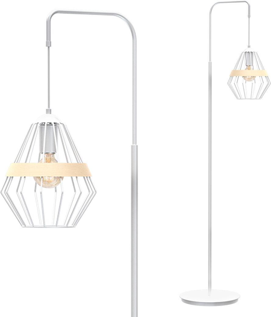 Lampa stojąca CLIFF WHITE 1xE27