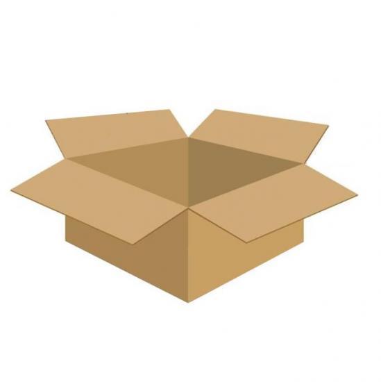 Karton klapowy tekt 5 - 400 x 400 x 200 620g/m2 fala BC ( 10 szt. w paczce)
