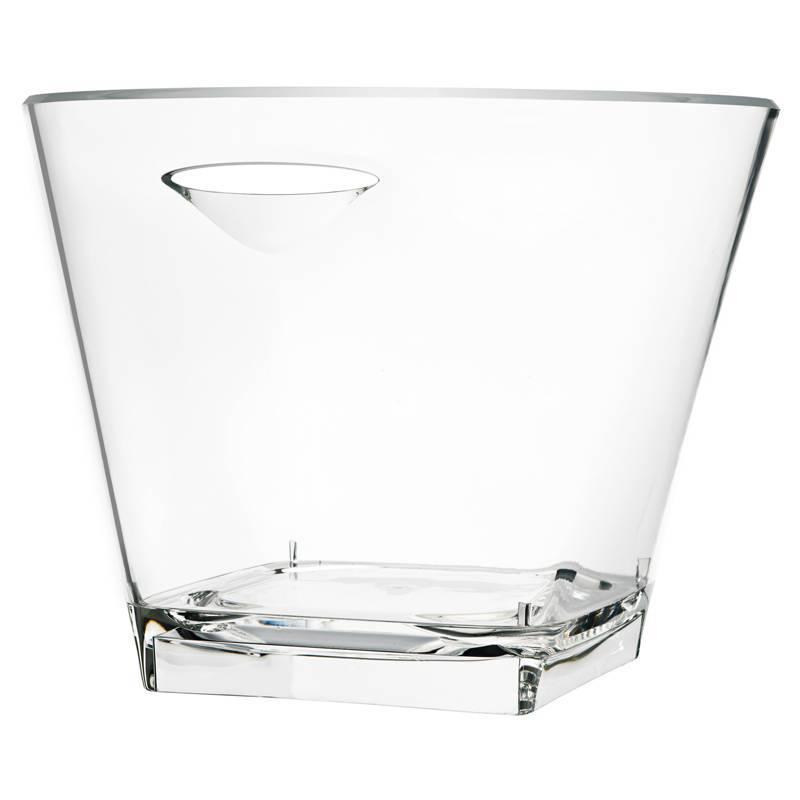 Cooler do wina, szampana akrylowy II wys. 27cm ø 34cm