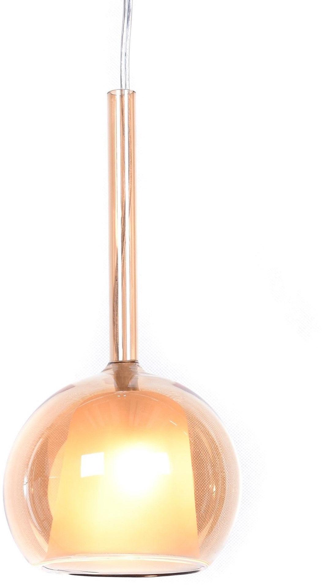 NOWOCZESNA LAMPA WISZĄCA ZŁOTA PRIOLA