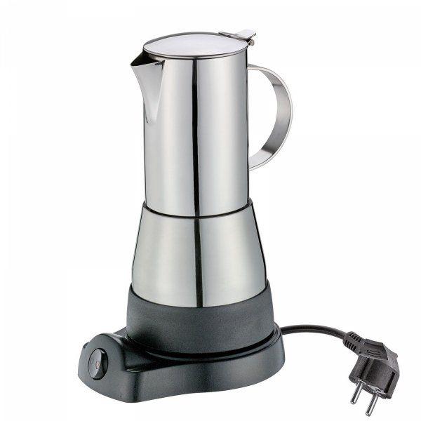 Cilio AIDA Kawiarka Elektryczna 300 ml - Stalowa