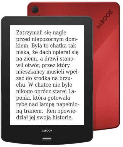 """inkBOOK Calypso Plus 6"""" (czerwony) + etui - Raty 30x0% - szybka wysyłka!"""