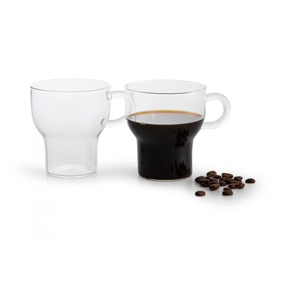 Sagaform Winter 250 Ml 2 Szt. - Szklanki Do Espresso Szklane - /W48h/