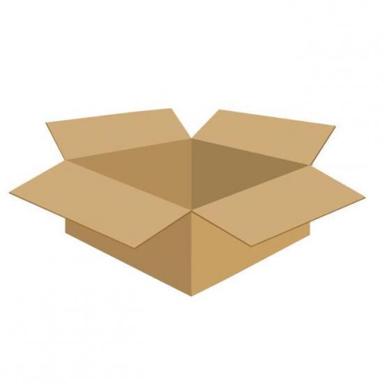 Karton klapowy tekt 5 - 400 x 400 x 100 620g/m2 fala BC ( 10 szt. w paczce)