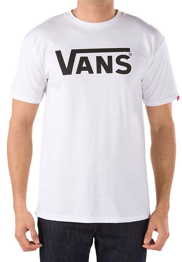 t-shirt męski VANS CLASSIC White/Black