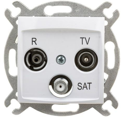 CARLA Gniazdo antenowe R-TV-SAT koncowe 1753-10